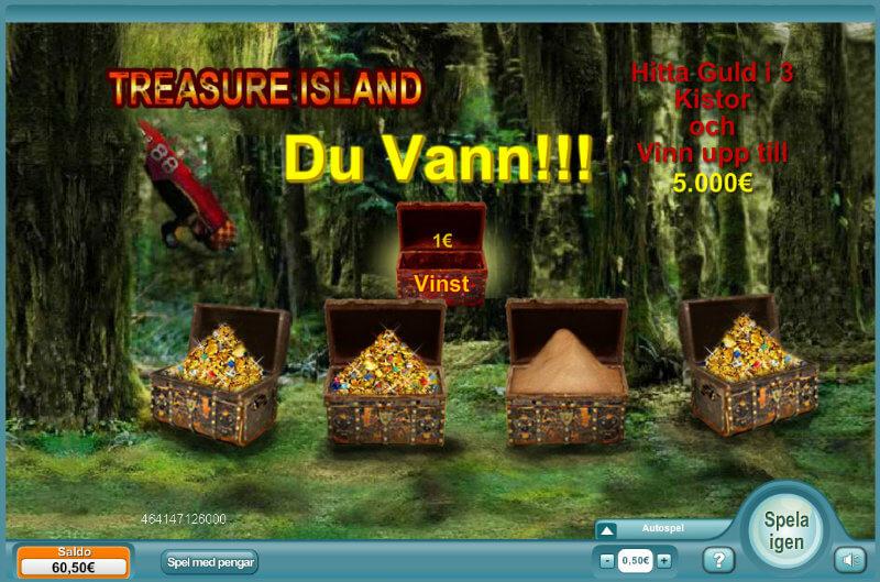 Skraplotten Treasure Island