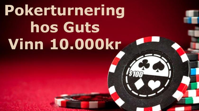 Pokerturnering hos Guts